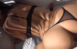 Atriz porno Day Matto fazendo sua estrea