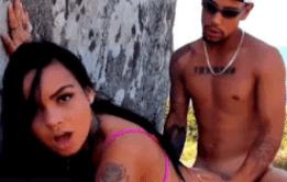 Sexo na praia com Evelyn Boarque